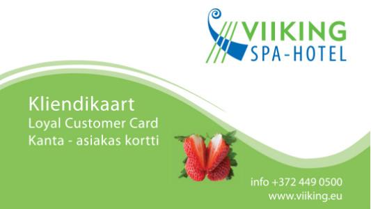 Viiking Spaa hotelli kliendikaart